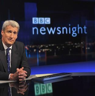 Jeremy Paxman has worked on Newsnight for 25 years