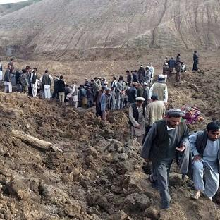 Maldon and Burnham Standard: British charities are mobilising to help with the rescue effort after a landslide is feared to have buried 2,700 people in a village in Afghanistan (AP)