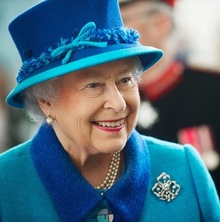The Queen attended an event for the Journalists' Charity.