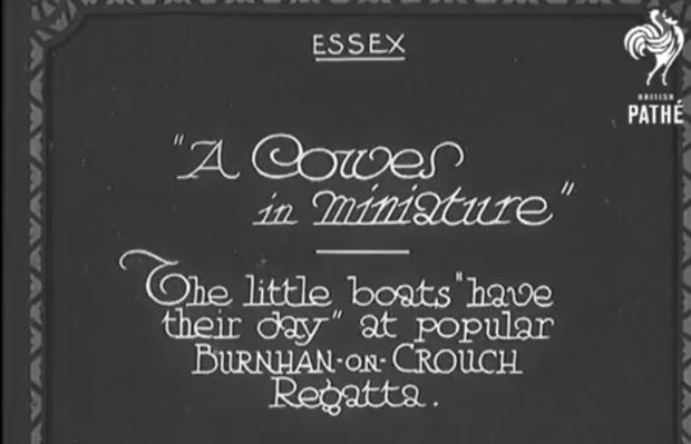 Maldon and Burnham Standard: A still from the film, made in 1932