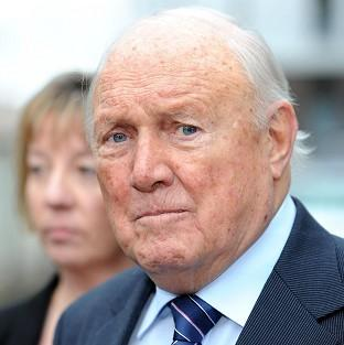 Veteran broadcaster Stuart Hall is on trial at Preston Crown Court accused of raping two young girls