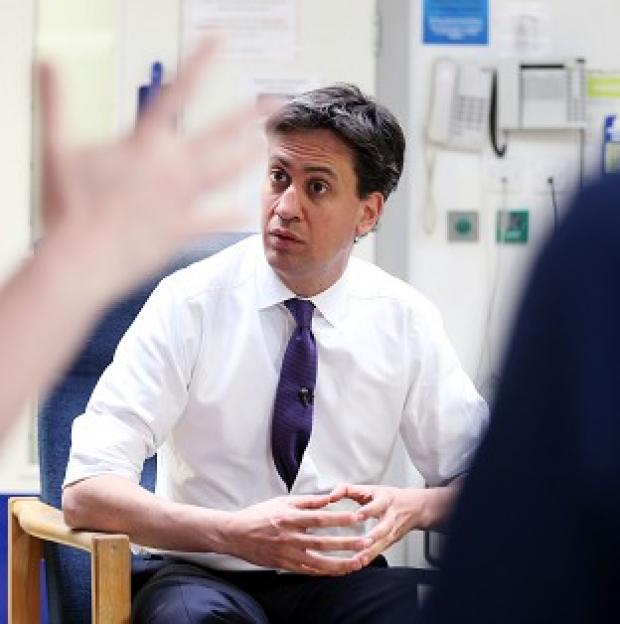 Maldon and Burnham Standard: Ed Miliband has pledged financial support for GPs' surgeries.