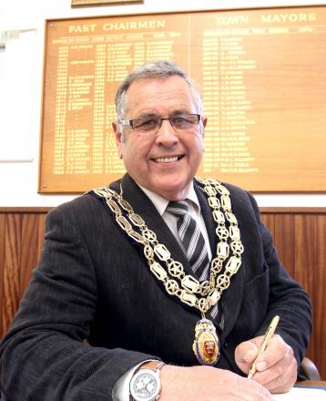 Burnham Town Mayor Ron Pratt
