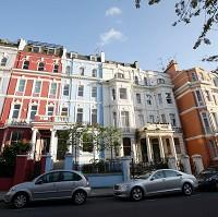 Maldon and Burnham Standard: Houses in Notting Hill, London, which has prospered despite the downturn