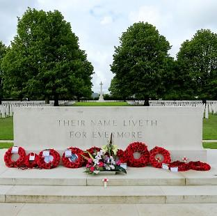 Maldon and Burnham Standard: The Bayeux War Cemetery in Normandy, ahead of preparations to mark the 70th anniversary of the Normandy landings