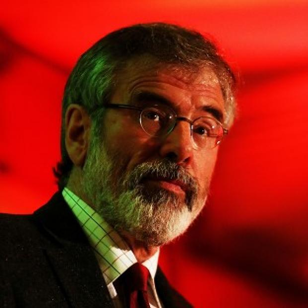 Maldon and Burnham Standard: The arrest of Sinn Fein leader Gerry Adams has not affected the party's standing in the polls, it is claimed
