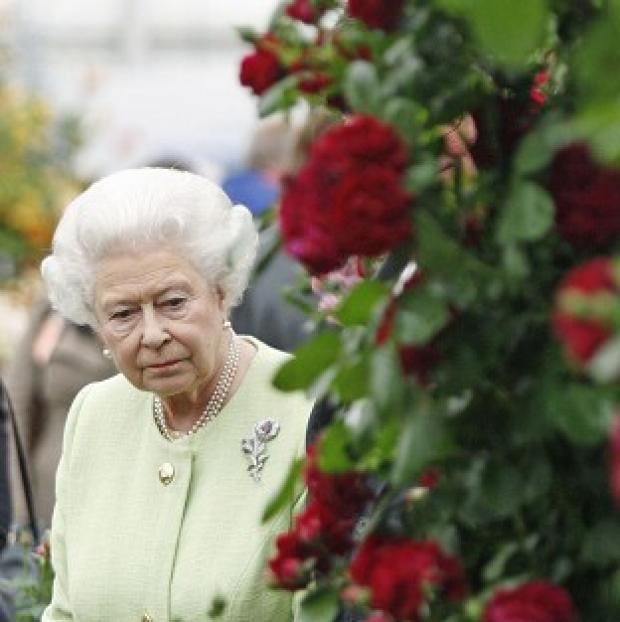 Maldon and Burnham Standard: The Queen on a previous visit to the Chelsea Flower Show.