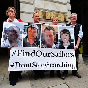 Maldon and Burnham Standard: Relatives of the missing yachtsmen pressed for the search to continue