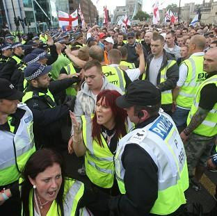A chief constable has urged a crackdown on rallies by far-right groups