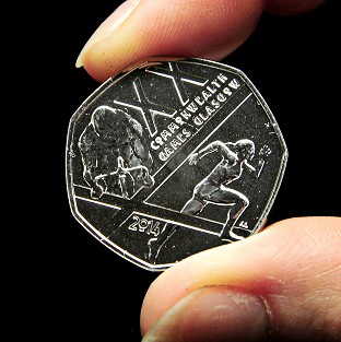 A new 50p coin featuring a Commonwealth Games design