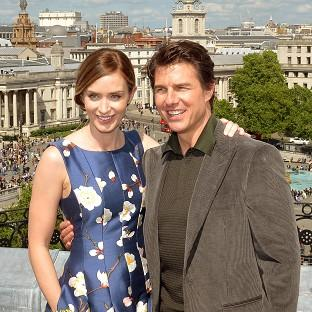 Maldon and Burnham Standard: Emily Blunt and Tom Cruise star in Edge Of Tomorrow.