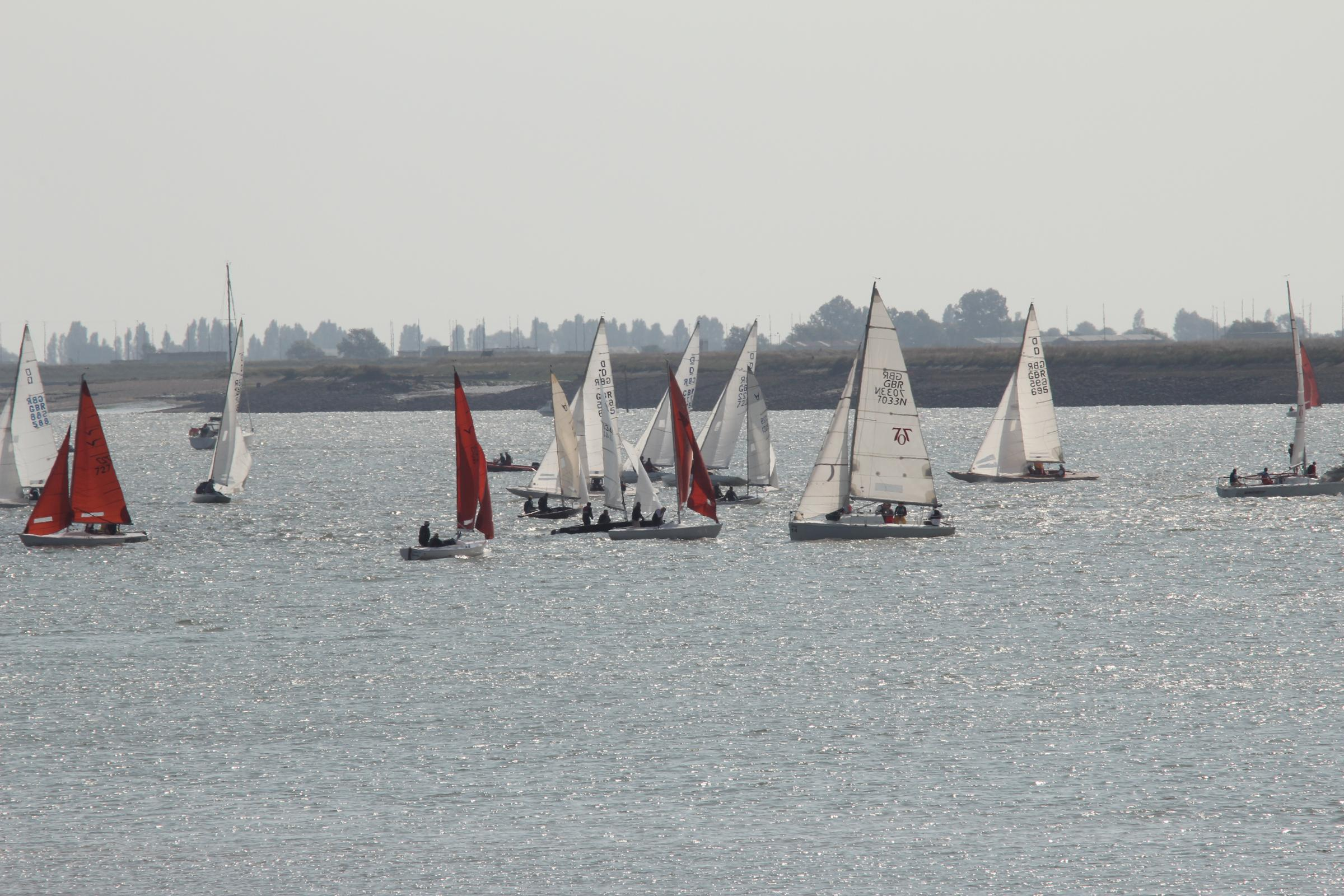 Boats at the Quay for Burnham week