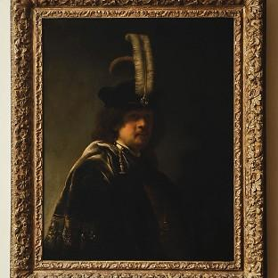 A self-portrait of Rembrandt discovered at Buckland Abbey, Devon