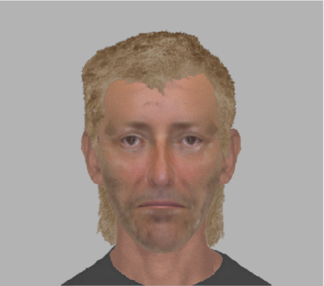 Do you recognise the man in this e-fit image