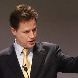 Nick Clegg is reported to be under pressure to match David Cameron's commitmen
