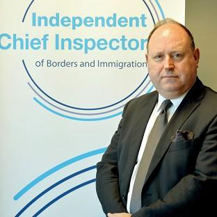John Vine, the Chief Inspector of Borders and Immigration