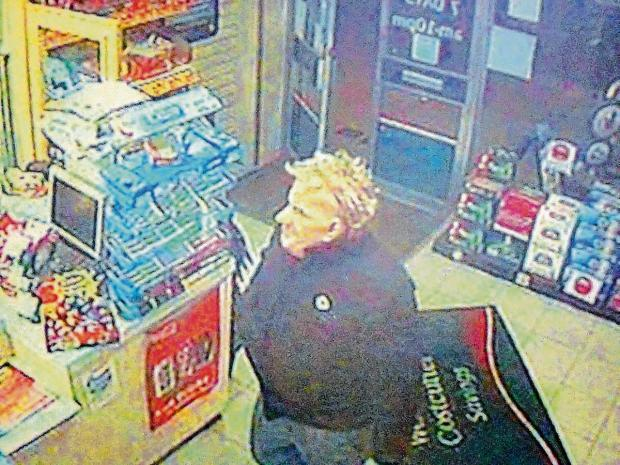 Police are still trying to trace the suspect who tried to rob a Costcutter store