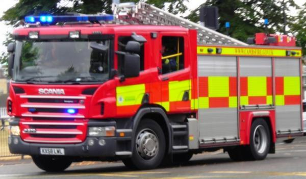 Factory fire in Maldon extinguished