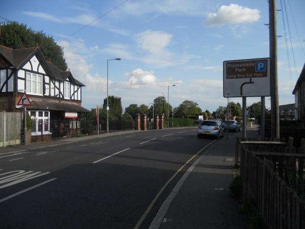 Mill Road, Maldon, where the fighting took place