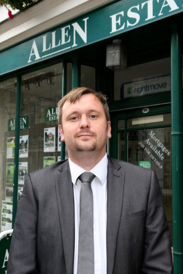 Joel Smith, office manager at Allen Estates, said more first time buyers are buying their 'forever home', which could impact on the market
