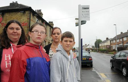 Mums angry over bus ban