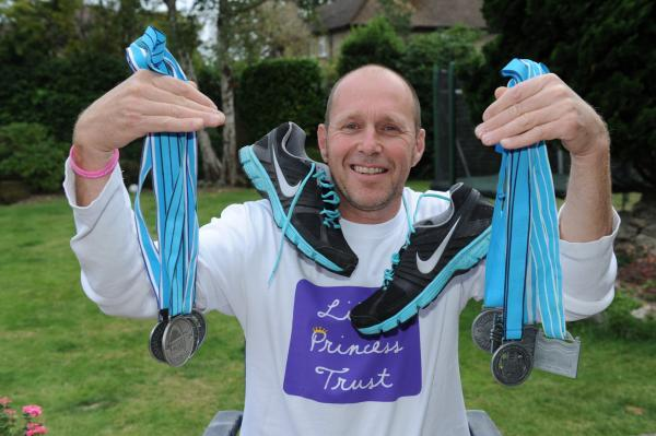 Richard Thompson – in training for his next Great North Run
