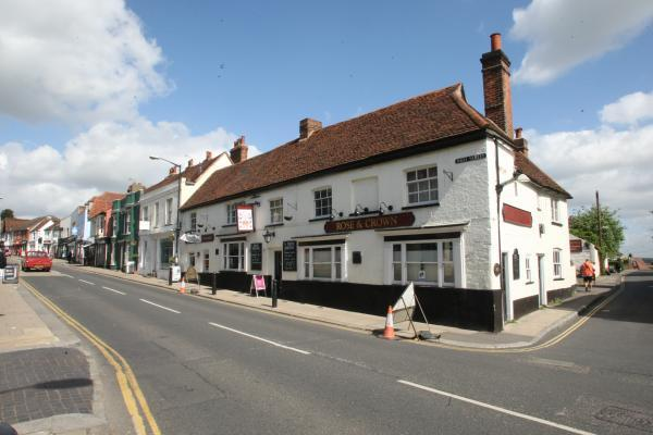 The site of the former Rose and Crown, which will become Wetherspoons