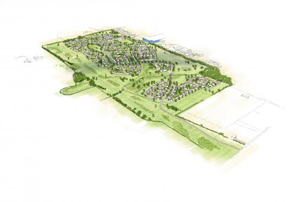 500 homes for West of Rayleigh