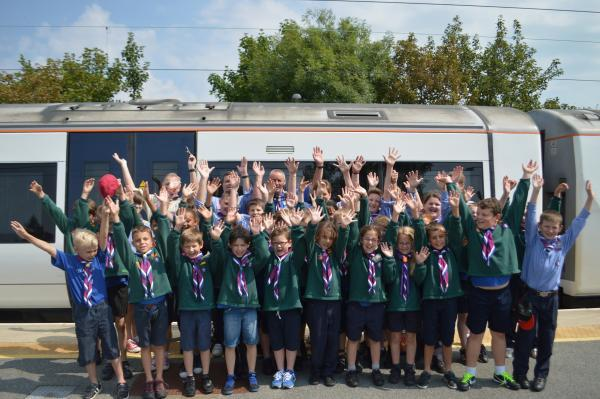 Thurrock Thameside Orion Scouts at Shoeburyness
