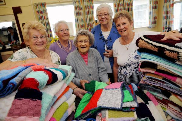 Grannies get the needle for charity
