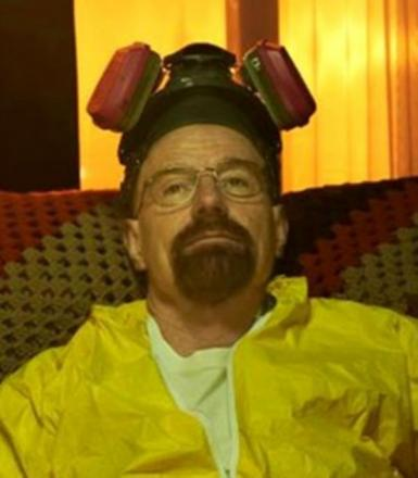 Walter White from the hit TV show Breaking Bad