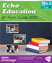 Maldon and Burnham Standard: Echo Education 6th Form Guide 2015