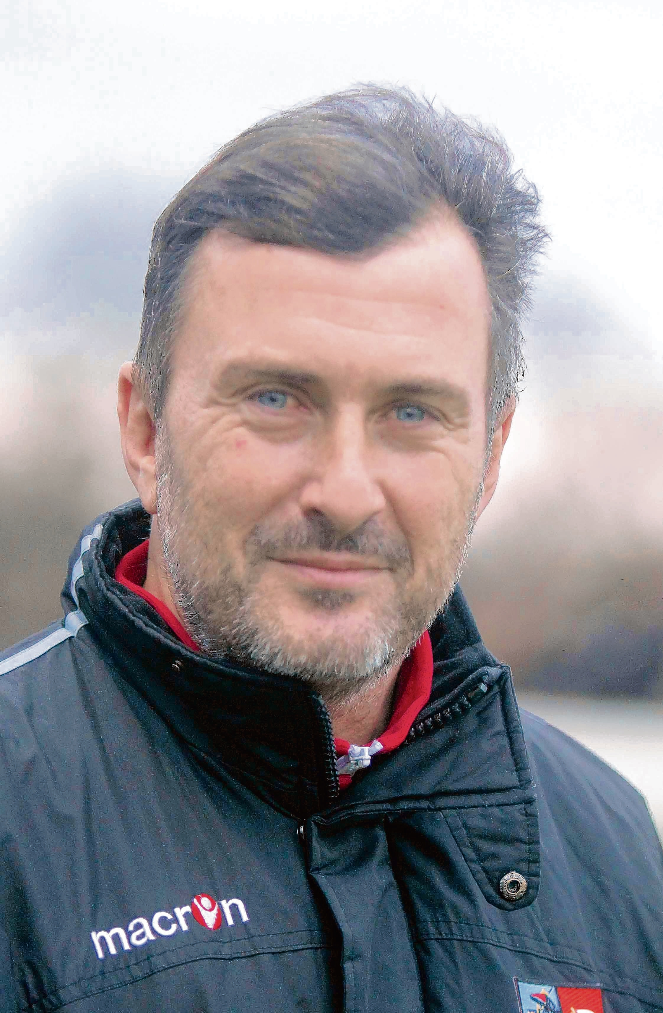 Delight: Steve Ball is happy to gain first win in charge of Maldon and Tiptree in derby game against Heybridge Swifts