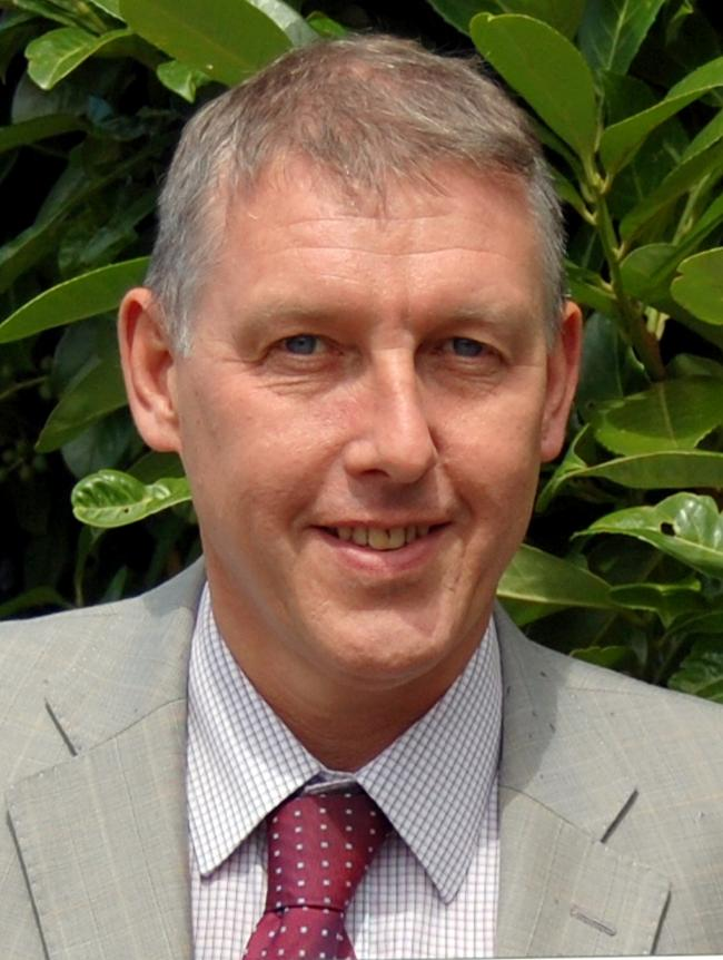 Andrew Geldard, out going chief executive of North Essex Partnership NHS Foundation Trust
