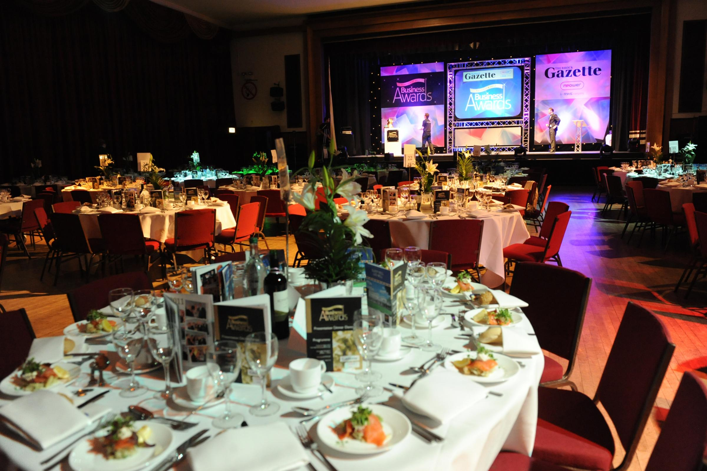 Thurrock Business Awards celebrate the best in business in glittering ceremony at Civic Hall