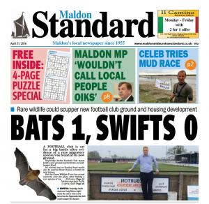 Maldon and Burnham Standard: In this week's Maldon Standard