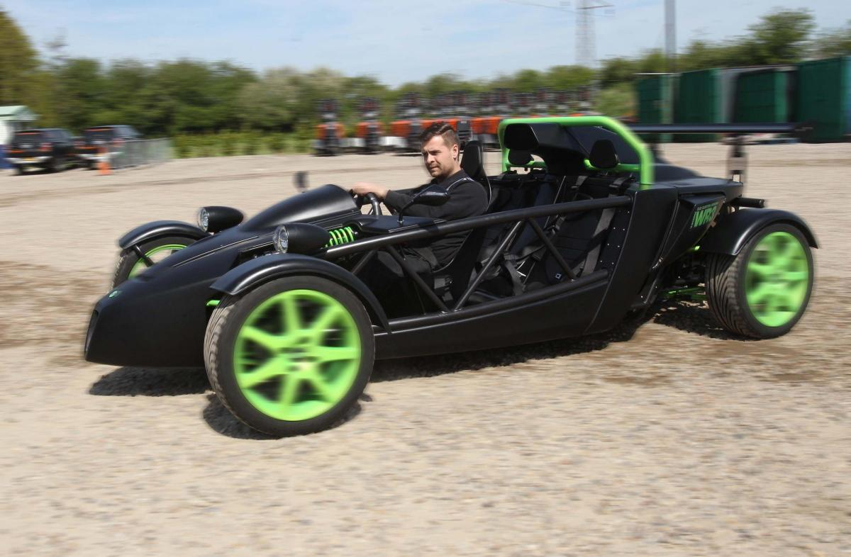 Engineer in South Woodham Ferrers unveils first car built from ...