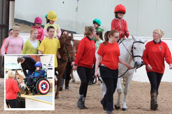 Riding school celebrates 40 years of helping people with disabilities to saddle up