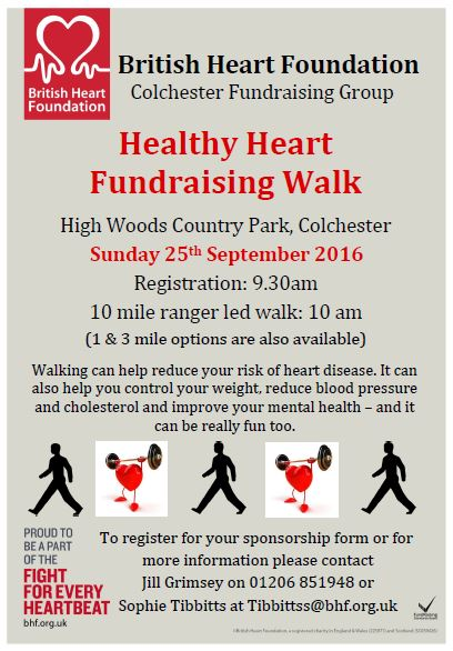 Healthy Heart Fundraising Walk