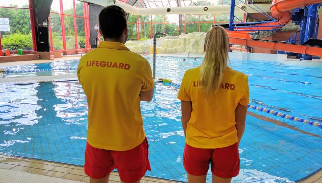 668e0ffe516 SAFETY  Blackwater Leisure Centre invites people to train as a lifeguard in their  intensive course