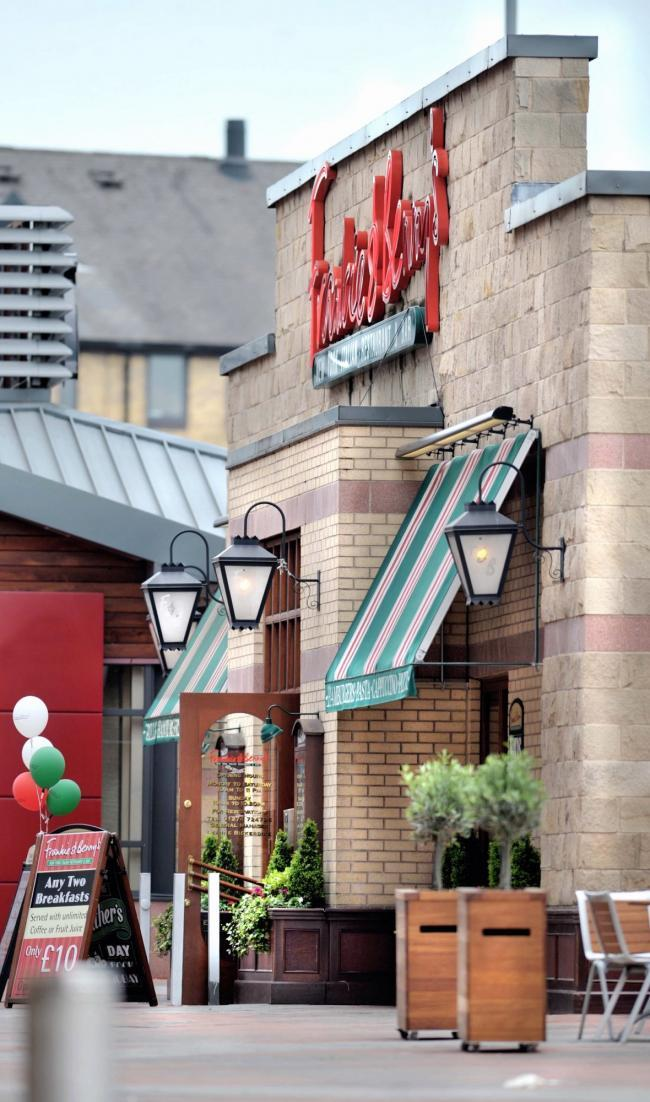 Group which owns Chiquito and Frankie & Benny's plans 118 closures