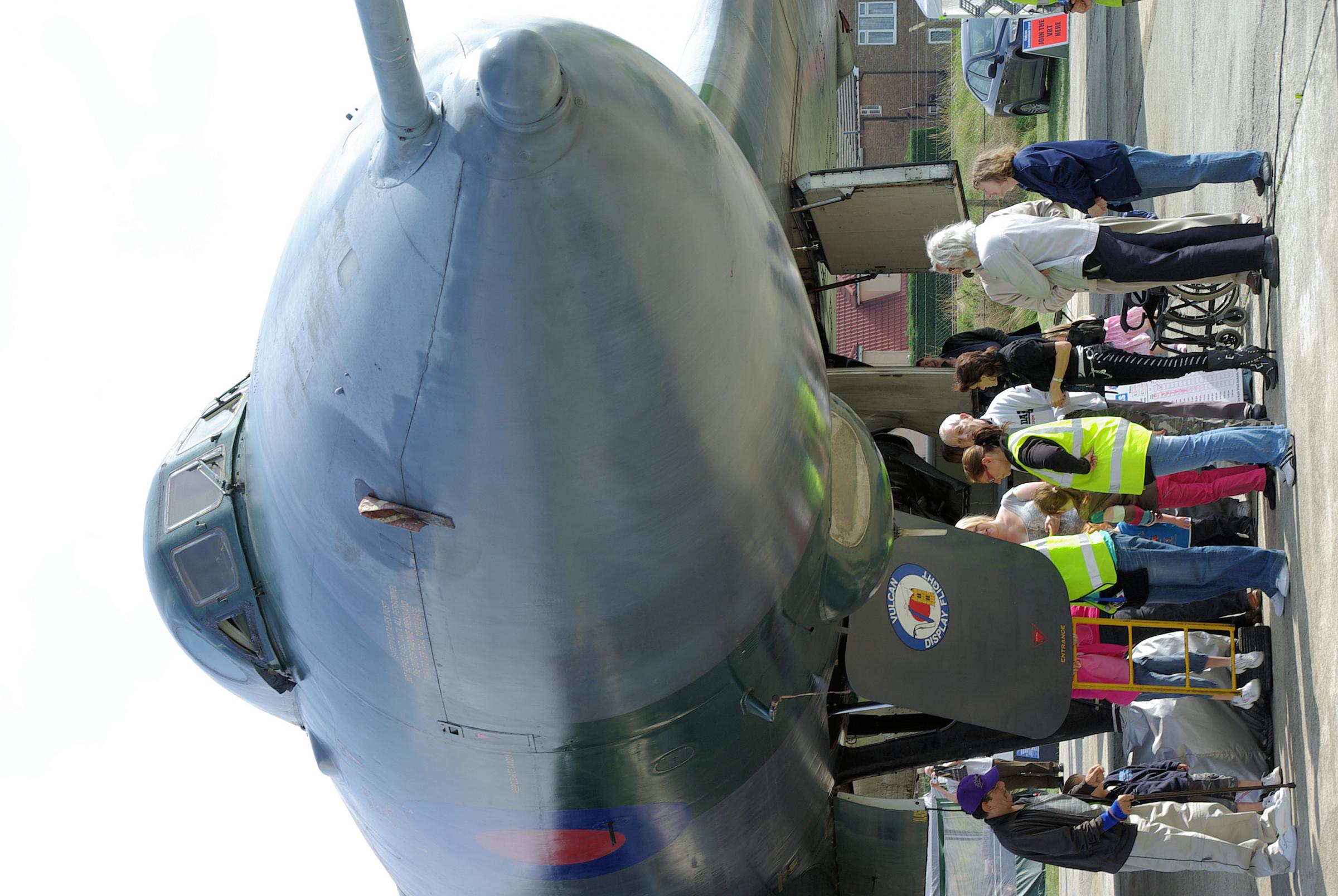 Last time this year to visit your Vulcan at Southend