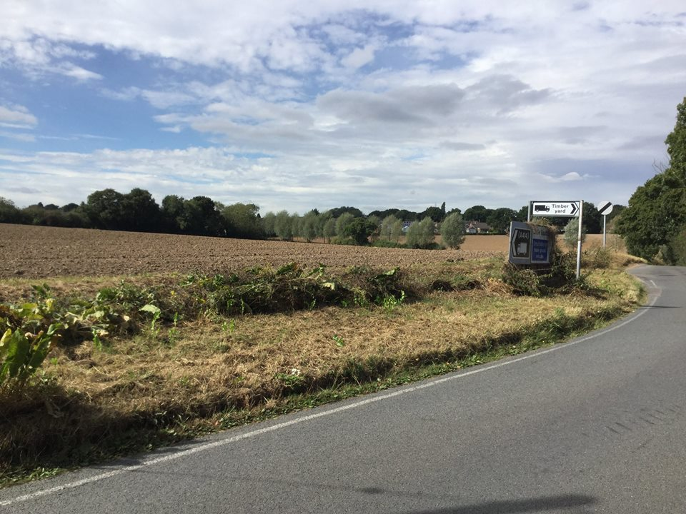New plans for 90 homes on land near the A414 are submitted