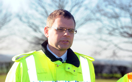 Warning - Adam Pipe, casualty reduction manager for Essex Police.