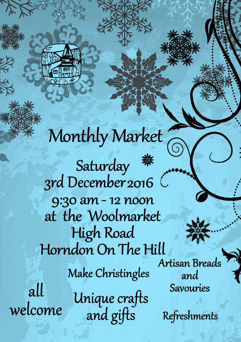Horndon on the Hill Christmas Market, 9am-1pm