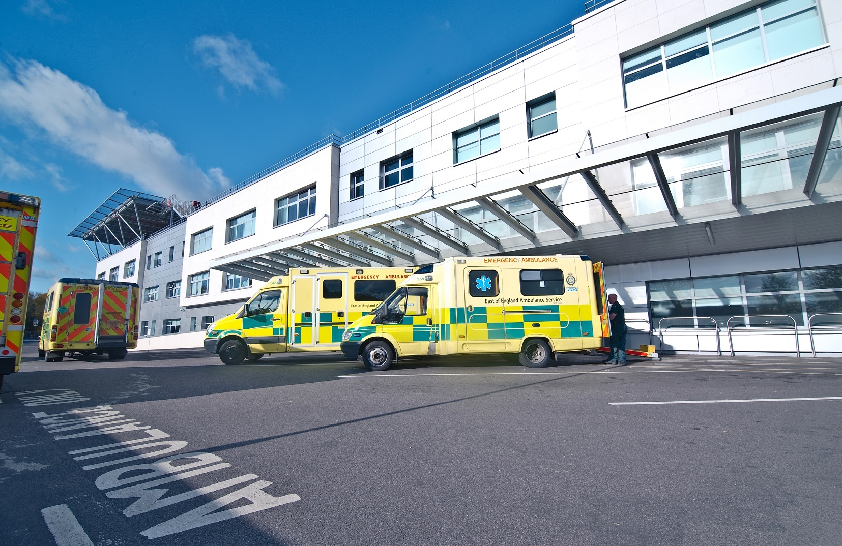 High demand at hospital today, trust warns