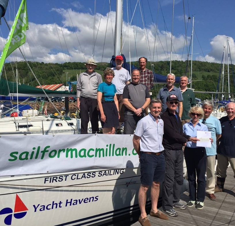 Epic charity sailing challenges to thank organisation that supported son through cancer battle