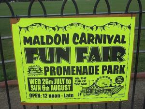 Maldon and Burnham Standard: Fun fair 'nothing to do with us' says carnival committee