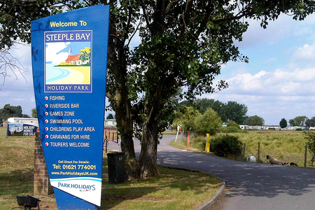 19ff0bee0364c9 Caravan owners shocked after being ordered to leave Steeple Bay holiday  park