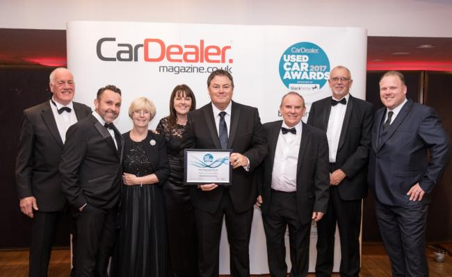 Garage recognised by industry experts for second time at awards night